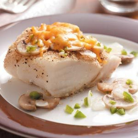 Baked Cod with Mushrooms