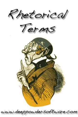 Rhetorical Terms and Theory