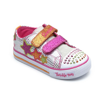 Skechers Double Star Twinkle Toes TRAINER