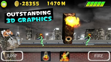 Screenshot of Mars Smash - Running Game