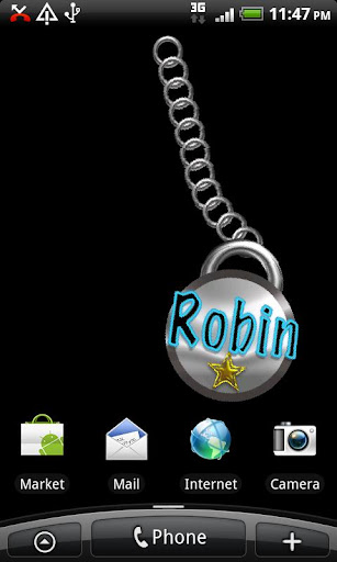 Robin Name Tag