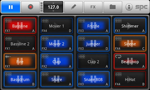 SPC音楽ドラムパッド