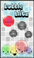 Screenshot of Bubble Blitz Demo