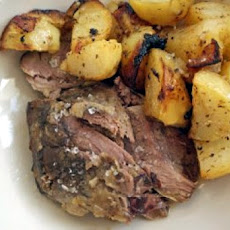 Pot Roast Lamb With Lemon