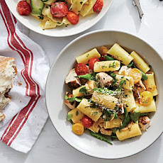 Summer Vegetable Rigatoni with Chicken