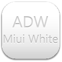 ADW Theme Miui White icon