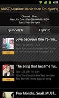 Screenshot of K-Wave tving (Kpop TV Show!)