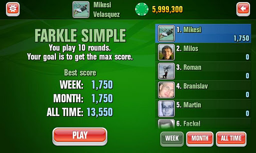 farkle for android screenshot