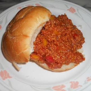 Textured Soy Protein Sloppy Joes