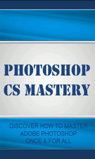 Photoshop CS Mastery Video