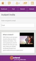 Screenshot of MySolavei App