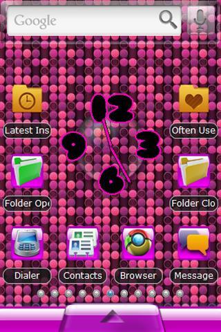 Pink Dots Theme