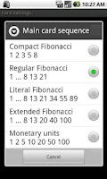 Screenshot of Planning Poker++