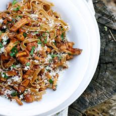 Tagliatelle with Chanterelle Mushrooms