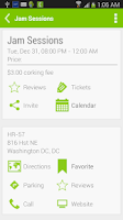 Screenshot of Got Eventz Pro Washington DC