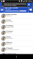 Screenshot of Ecuador Guide Radio and News
