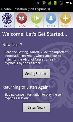 Hypnosis for Alcoholism