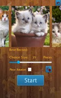 Screenshot of Cats Jigsaw Puzzles