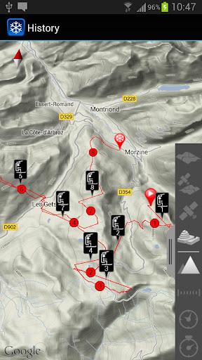 Ski Tracks History