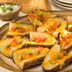 Hearty Game Day Potato Skins