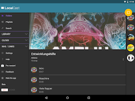 Screenshot of LocalCast for Chromecast/DLNA