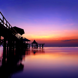 This Morning by Alfian Hangga Diputra - Landscapes Sunsets & Sunrises ( #landscape, #nature, #kenjeran, #morning, #sunrise )