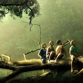Bermain by Bli Gede Bagoes IGPWT - Babies & Children Children Candids
