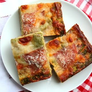Pesto Pizza Bread