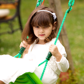 Child on a swing. by Enzo Minchella - Babies & Children Children Candids ( swing )