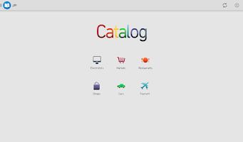Screenshot of كتالوج