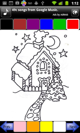 Coloring for Tots - Christmas