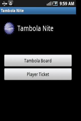Tambola Nite