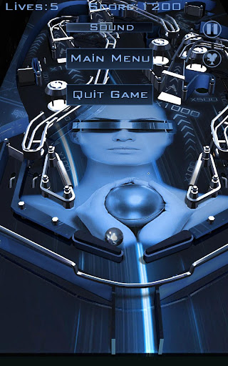 Pinball 3D - screenshot