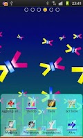 Screenshot of Abstract Flowers Theme Go Dev