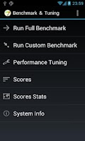 Screenshot of Benchmark & Tuning (Full)