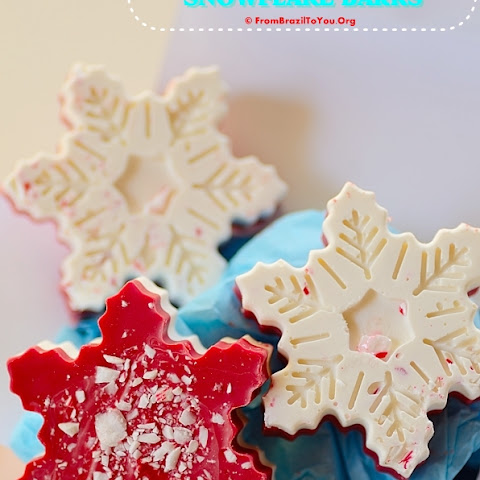 Peppermint Snowflake Bark & 10 Money Saving Tips