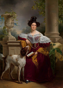 RIJKS: Jan Adam Kruseman: Portrait of Alida Christina Assink 1833