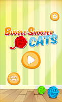 Screenshot of Bubble Shooter Cat