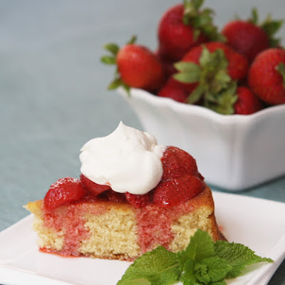 Strawberry and Brown Butter Shortcake