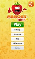 Screenshot of Fruits Games - Exercise Memory