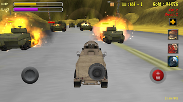 Screenshot of Tank Battle-Desert War