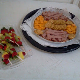 Ham and cheese platter by Terry Linton - Food & Drink Meats & Cheeses