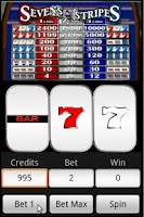Screenshot of Slots : Sevens and Stripes