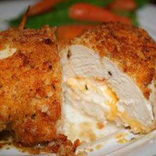 Garlic Lemon Double Stuffed Chicken