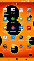 Screenshot of Xperia Theme - Circles
