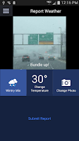 Screenshot of AccuTrack WABC NY AccuWeather