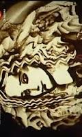 Screenshot of Sand painting