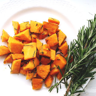 Sauteed Sweet Potatoes with Fresh Rosemary