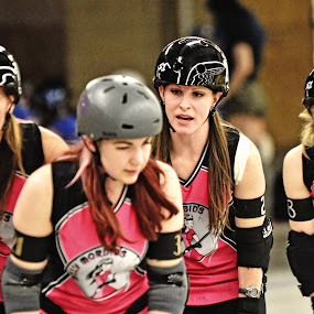 Roller Derby1 by Cody Hoagland - Sports & Fitness Other Sports ( roller, derby )
