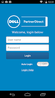 Screenshot of Dell PartnerDirect